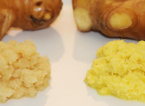 大生姜と黄金生姜
