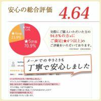 安心の総合評価